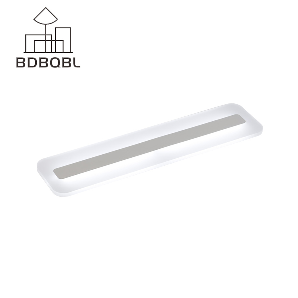 BDBQBL Mirror Lights Modern Simple Wall Lamp Makeup Dressing Room Bathroom Acryl LED Fixture Home Lighting Wall Light Mirror modren acryl led mirror wall lamp waterproof and anti fog dressing room makeup mirror light fixture for bathroom toilet