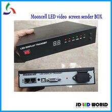Mooncell LED LEVOU Caixa de exibição de transmissão Externa Envio