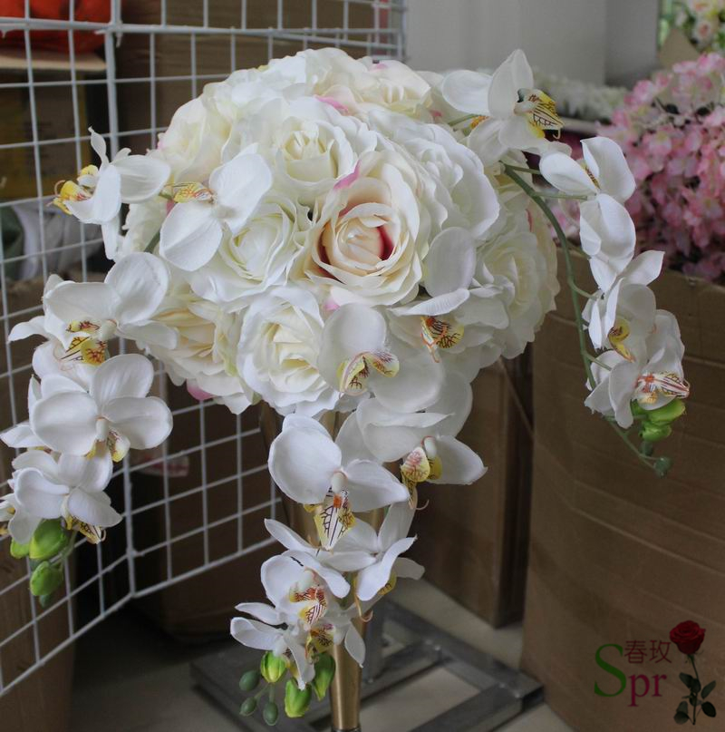 SPR Free shipping!10pcs\/lot wedding artificial flower ball