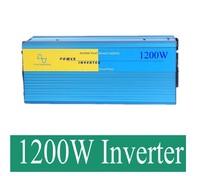 1200W Pure Sine Wave Car Power Inverter Dc 12V TO Ac 220v Converter For Solar System
