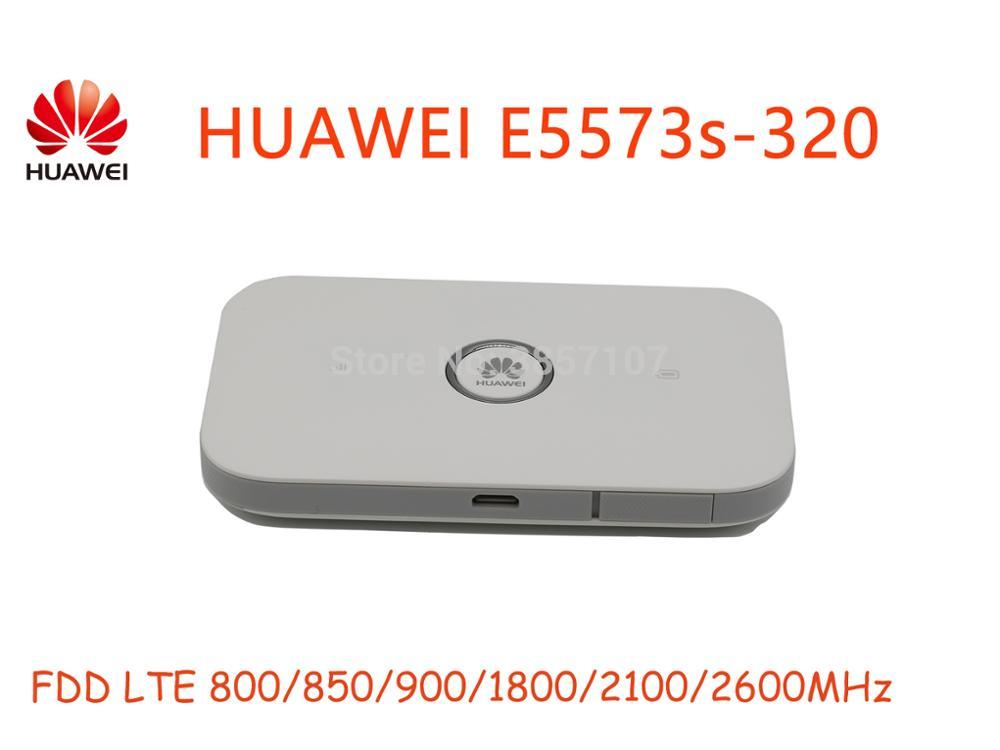 Tout nouveau routeur Original de déverrouillage LTE FDD 150Mbps HUAWEI E5573 E5573-320 4G avec emplacement pour carte Sim et routeur WiFi 4G LTE