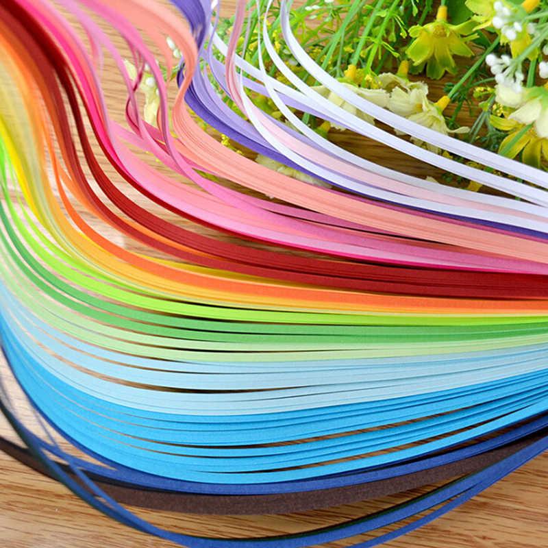 260 Arcobaleno di Carta Quilling Strisce Set 3 millimetri 39 centimetri di Carta Regalo Fiore Per Le Imbarcazioni FAI DA TE Strumenti Quilling di Carta Fatta A Mano decorazione