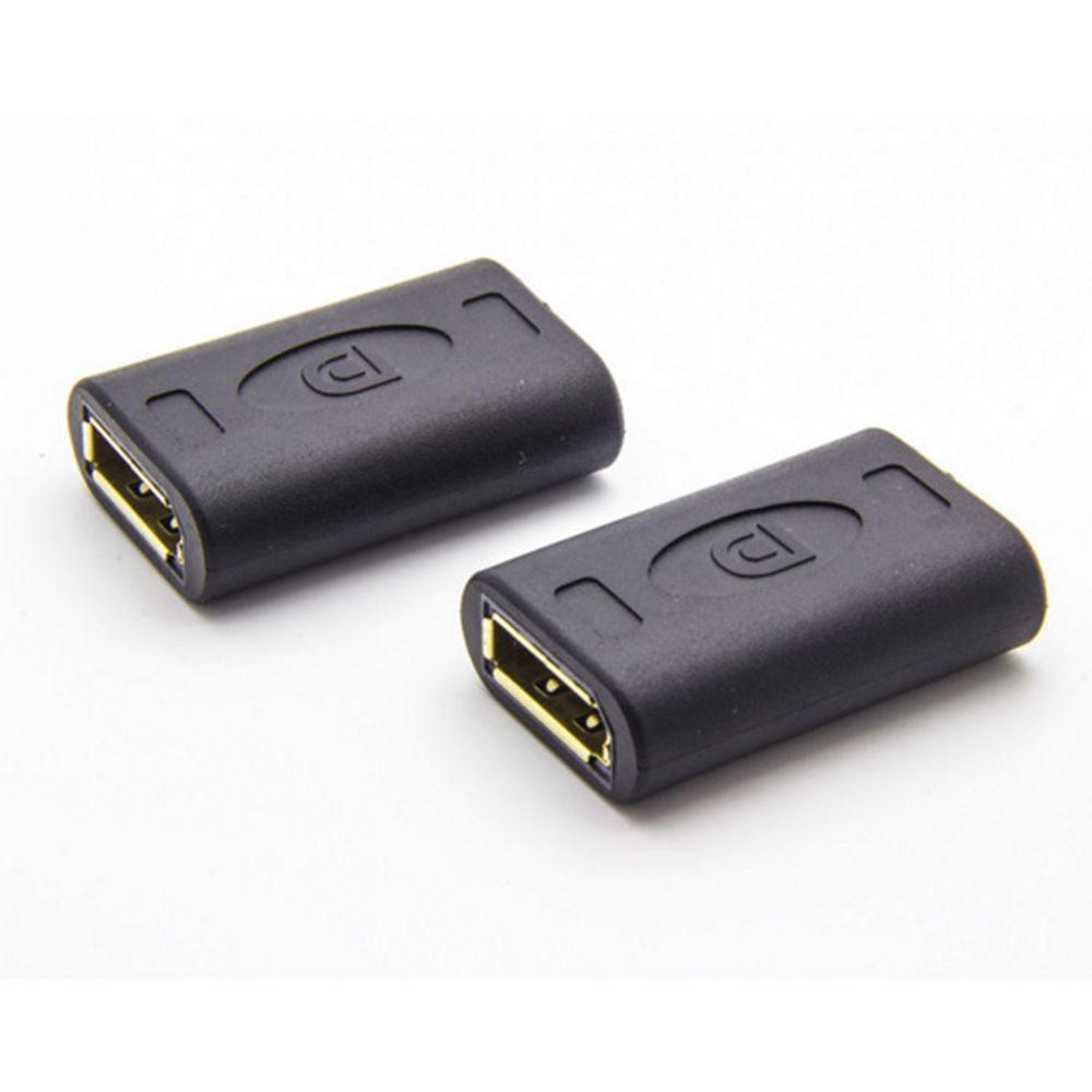 DP To DP DisplayPort Female To Female Adapter Connector Coupler Extender Tool