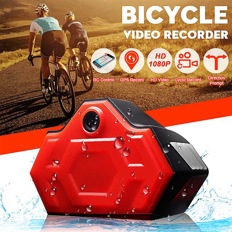 Bicycle Riding Driving Recorder HD 1080P Portable Bicycle Bike Sports Waterproof DVR Safety Warning Rear Light Bike AccessoriesBicycle Riding Driving Recorder HD 1080P Portable Bicycle Bike Sports Waterproof DVR Safety Warning Rear Light Bike Accessories