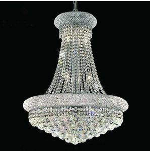 Image 3 - Phube oświetlenie imperium francuskie złoty kryształowy żyrandol chromowane żyrandole oświetlenie nowoczesne żyrandole światło + darmowa dostawa!