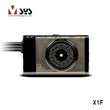 Vsys X1F 2016 Más Nuevo de La Motocicleta dvr con el real 1080 P dual lente cena capacitor ayuda del perseguidor del GPS de control de alambre