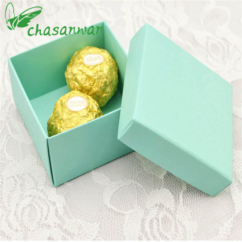 5 Pcs Paper Gift Box Tiffany Blue Casamento Candy Box Gift Box Candy Bag Wedding Gifts for Guests Wedding Decor Party Supplies,J