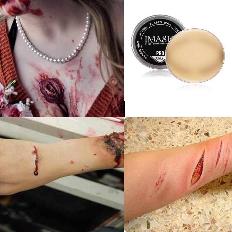Fake Cuts Scar Skin Wax Halloween Make Up Create Stage