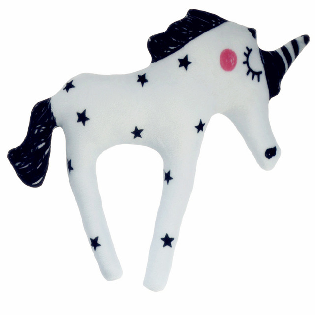 30cm Plush Pillows Plush Unicorn Horse Toys Kids Soft Stuffed Figure Toy Hot Toy for Children Boys Girls  Gift