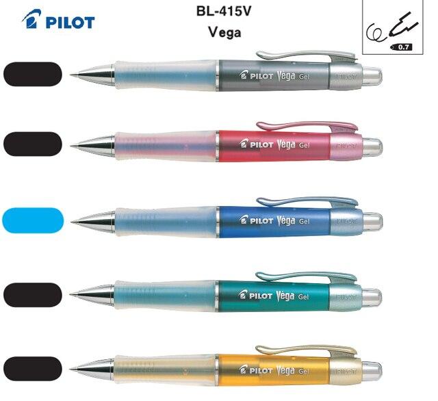 Top Stylo plume 0.7 MM japon pilote BL 415V Vega Singature Gel pen  YM36