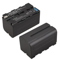 1Pcs 7 2V 5200mAh NP F750 NP F770 Digital Camera Battery For Sony NP F750 NP