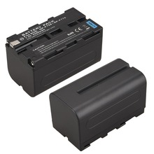 1Pcs 7.2V 5200mAh NP-F750 NP-F770 Digital Camera Battery for  Sony NP-F750 NP-F770 Battery NP F750 NP F770 Batteria Bateria