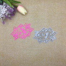 Julyarts Leaf Flower New 2019 Metal Cutting Dies Frame For Scrapbooking Troqueles Fustelle