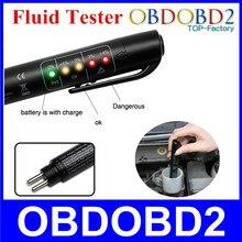 Mejor Calidad Del Líquido de Frenos Tester Mini Lápiz Electrónico Con 5 LED Para DOT3/DOT4 Coche Herramientas de Diagnóstico Del Coche Del Vehículo accesorios