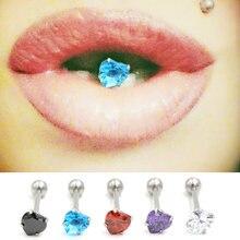 1 шт женские сексуальные кольца для пирсинга языка очаровательные