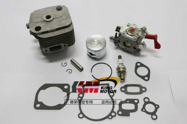 23CC, 26CC om 29CC Motor Upgrade Kit voor 1/5 fg baja hpi 5 t, 5b, ss Inclusief bougie, carburateur
