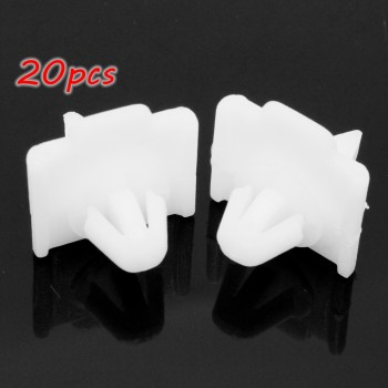 20pcs Car Side Door Moulding Trim Clips For Mercedes W124 E Class W201 190 A0019884981 image