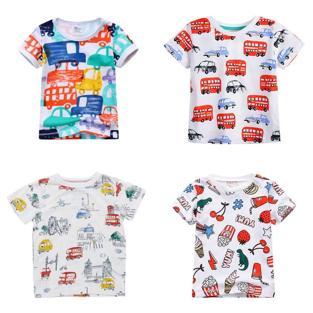 Buy 2017 new brand boys clothing cute for T shirt distributor manufacturers