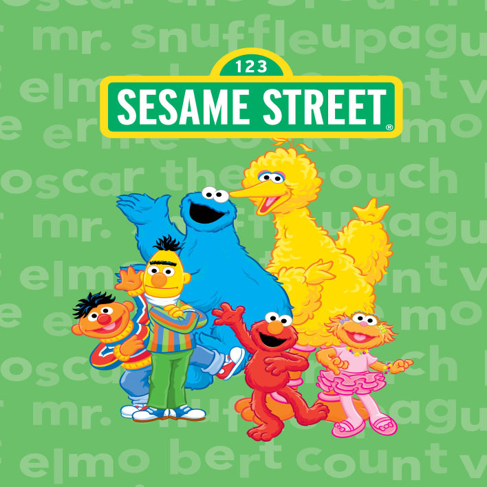 Bert Wallpaper Iphone X 8x8ft Sesame Street Elmo Bert County Little Plum Kids