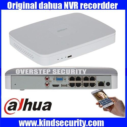 US $244 0 |DAHUA NVR4108/4116 8P 8/16ch Smart 1U NVR 1080P DAHUA mini NVR  with onvif 8POE 1080P network video recorder free shipping-in Surveillance