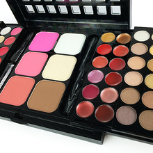 TZ 78 Colors 3 Layers Sliding blush Makeup Set Eyeshadow  makeup palette and Concealing in Matte and Shimmer with Mirror Brush