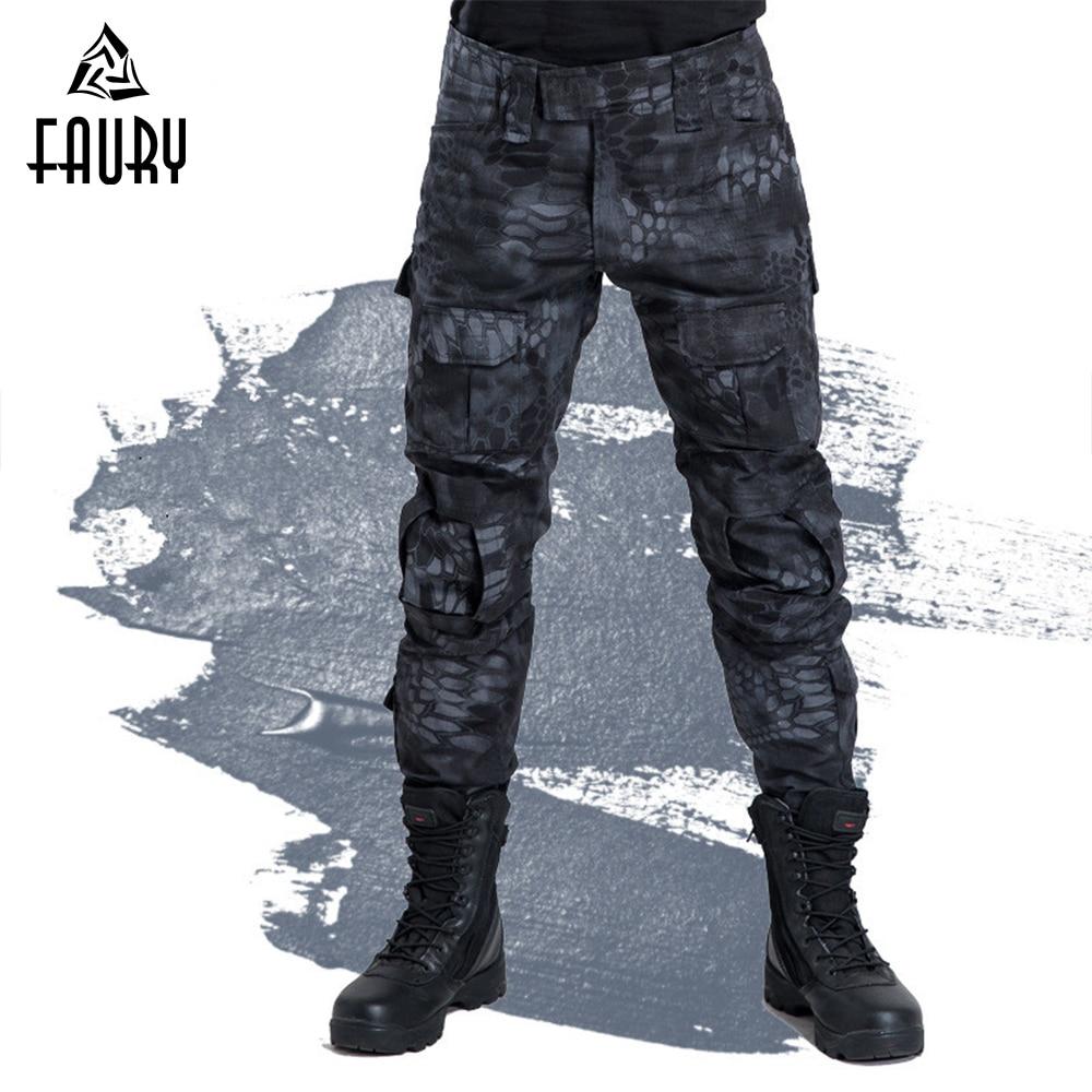 Camuffamento Tattico Militare Uniformi Di Colore Protettivo Combattimento Rana Pantaloni Militari, Pantaloni Vestiti Degli Uomini Degli Stati Uniti Di Caccia Pantaloni Cargo
