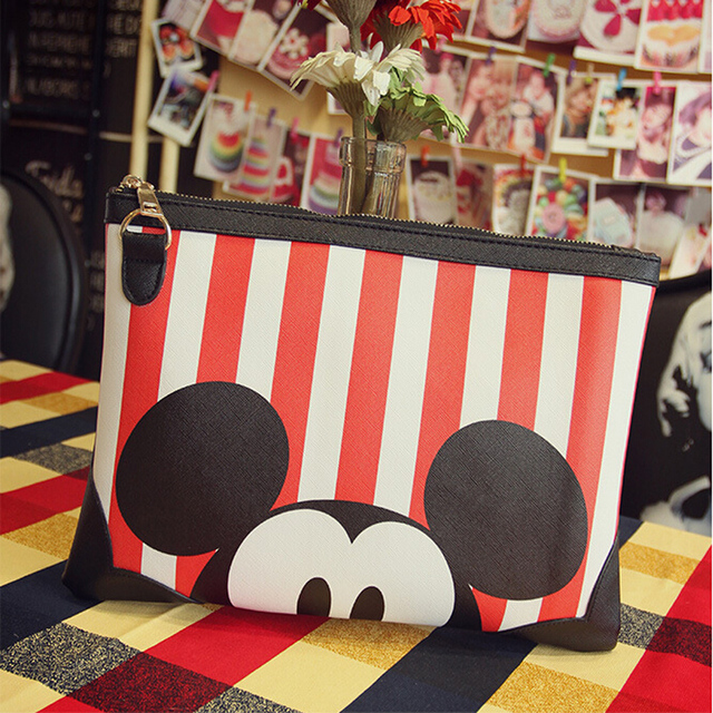 Women Clutch Bag Mickey Messenger Bags Minnie Handbag Duck Leather Handbags Bolsas Feminina Bolsa Designer Handbags High Quality