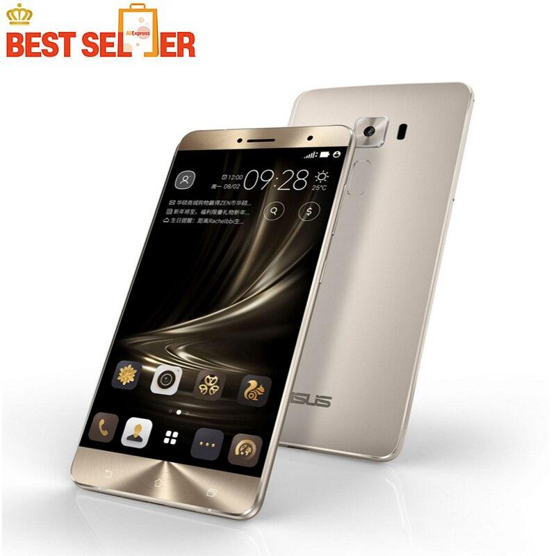 "Original ASUS Zenfone 3 Deluxe ZS550KL Octa Core Snapdragon625 5.5"" 4GBRAM 64GBROM 16.0MP Fingerprint Android 6.0 Mobile Phone"