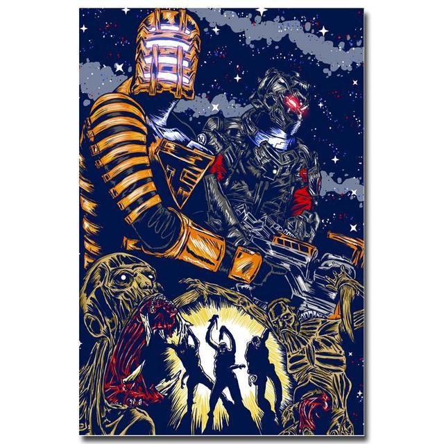 Шелковый Плакат Гобелен Игра Dead Space в ассортименте
