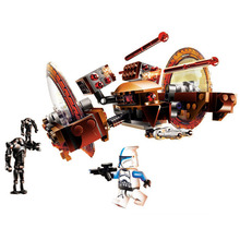 2019 Hailfire Droid Bricks Compatible with legoergy Star Warsmy 75085 Building Blocks Figure Educational Toys for Children Gift 1238pcs space wars hero droid bb 8 robots figure 05128 model building blocks assemble toys bricks jedi set compatible with lego