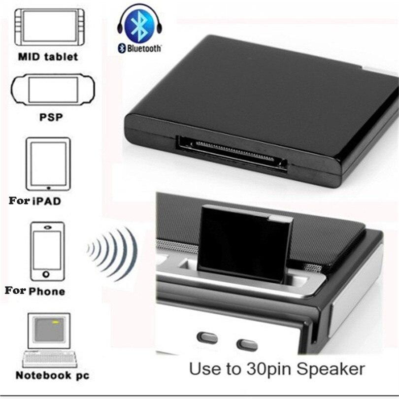 Tragbares Audio & Video Verantwortlich Bluetooth Musik Empfänger Adapter Bt V2.1 A2dp Musik Empfänger Adapter Für Ipod Für Iphone 30-pin Dock Lautsprecher N 30nt08 Weder Zu Hart Noch Zu Weich Unterhaltungselektronik