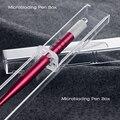 Acrílico cristal Caixa de caneta Microblade Microblading needle holder dispply tebori stand acessórios do tatuagem da sobrancelha