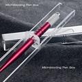 Crystal Acrylic Microblading pen Box Microblade needle holder dispply tebori stand eyebrow tattoo accesories