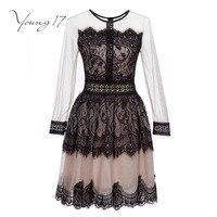 Young17レースドレス女