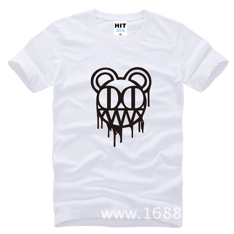 Radiohead rockband Herrman T-shirt Tröja för mode 2015 New Short - Herrkläder - Foto 4