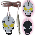 One Skull Tattoo Foot Switch Pedal Stainless Steel Pedal Clip Cord For Machine Gun Power Supply -- TP-J-01YW
