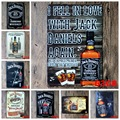 20X30cm/ WINE JACK DANIELS antique retro metal tin sign Iron painting craft vintage home wall decoration