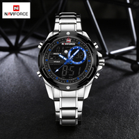 Fashion Men Watches Luxury Brand NAVIFORCE Men S Quartz Analog LED Sports Watch Men Army Military