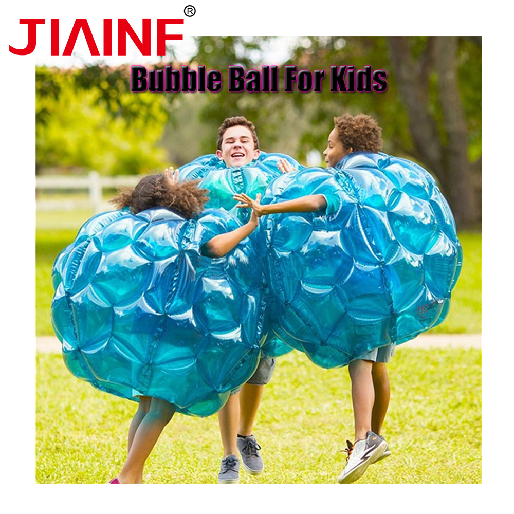 60cm,90cm Collision Body Bumper Ball Friendly For Kids Funny Body Punching Ball Outdoor Activity Inflatable Bubble Buffer Balls free shipping outdoor 1 2m kids body bumper ball inflatable balls human sized hamster bubble ball for sale