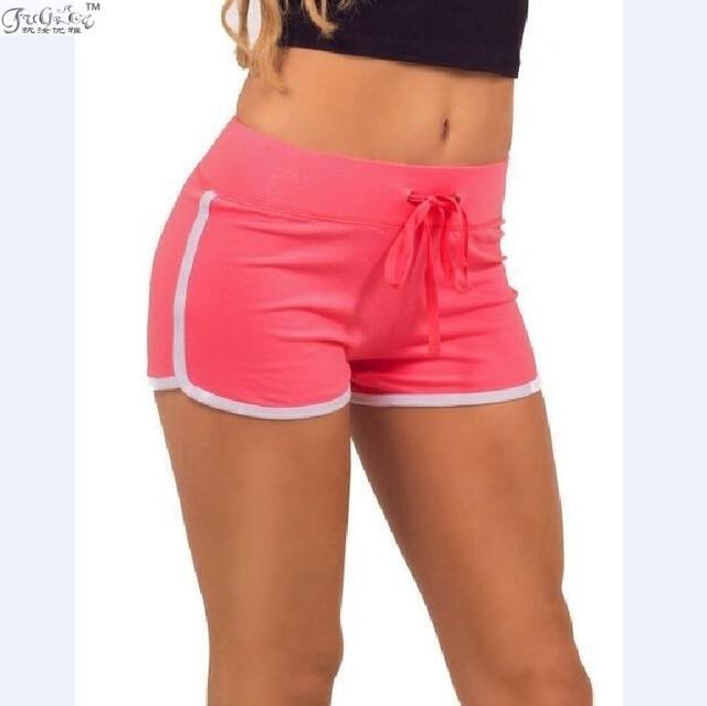 Sale Sports Hot Shorts Women Shorts Loose Cotton Side Split Elastic Waist Women  Shorts Water Sports Surfing Beach Shorts b2aec4b804