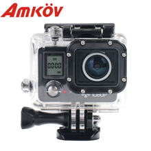 AMK5000S Wifi Outdoor Video Camera Camcorder Digital Cam Video HD DV Car DVRWaterproof 30M Shockproof 20MP 1080P