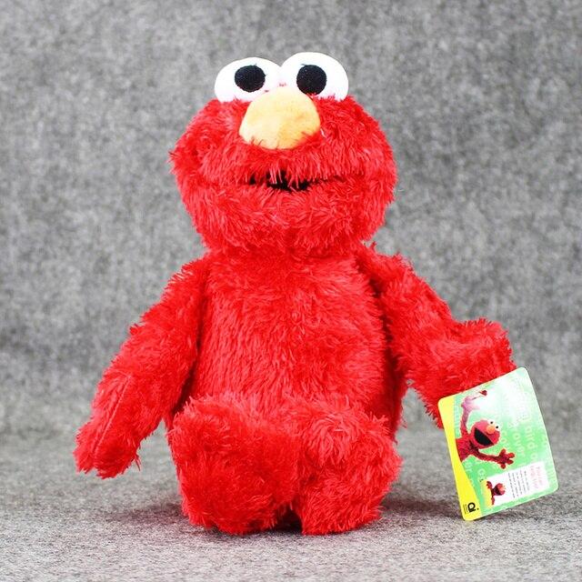 1 Pcs Sesame Jalanan Elmo Lembut Stuffed Mewah Toys Colletible Boneka  Hadiah Ulang Tahun untuk Anak 85a5835173