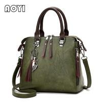 AOYI Women Handbag Famous Brand PU Leather Lady Handbags Luxury Shoulder Bag Large Capacity Crossbody Bags