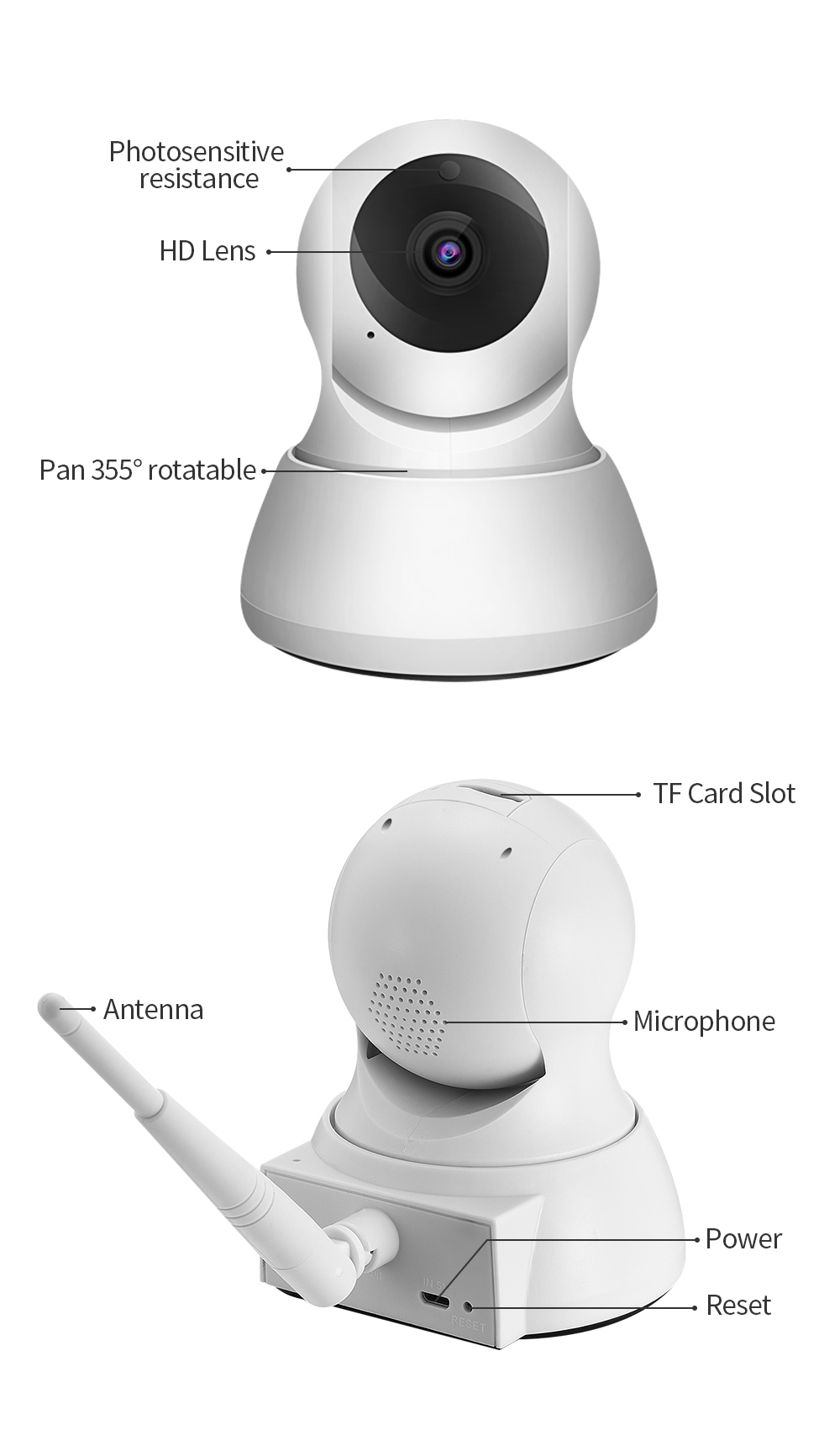 HTB1Y4bNiRsmBKNjSZFFq6AT9VXaB SDETER Home Security IP Camera Wi-Fi 1080P 720P Wireless Network Camera CCTV Camera Surveillance P2P Night Vision Baby Monitor