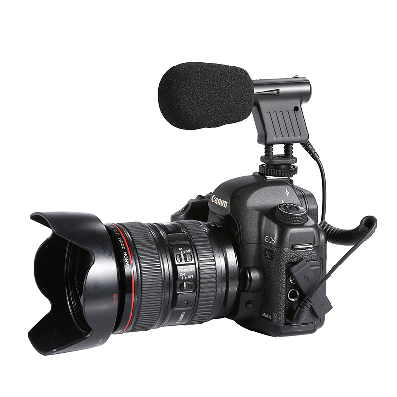 BOYA BY-VM01 Professional Recording Microphone Video Broadcast Directional Condenser MIC For Nikon Canon Sony DSLR DV Camcorder