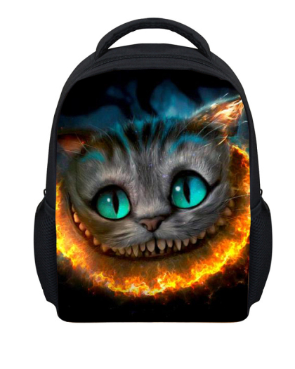 Faith Cat Print Children School Bags for Kids Backpack,Mochila Infantil for Kindergarten Schoolbag Baby Backbag School Backpacks