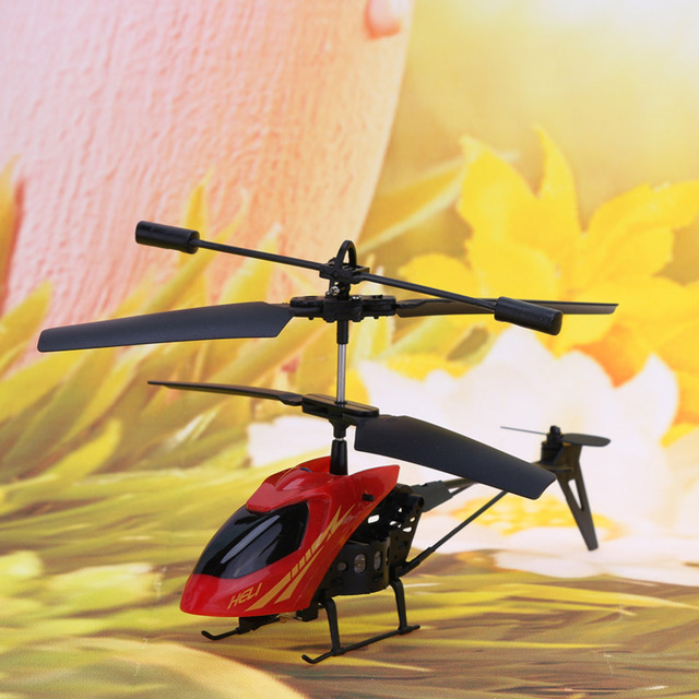 Mini Cool 2CH RC Helicopter Children Infrared Remote Control Vertiplane Toy 10-15m Ideal Birthday