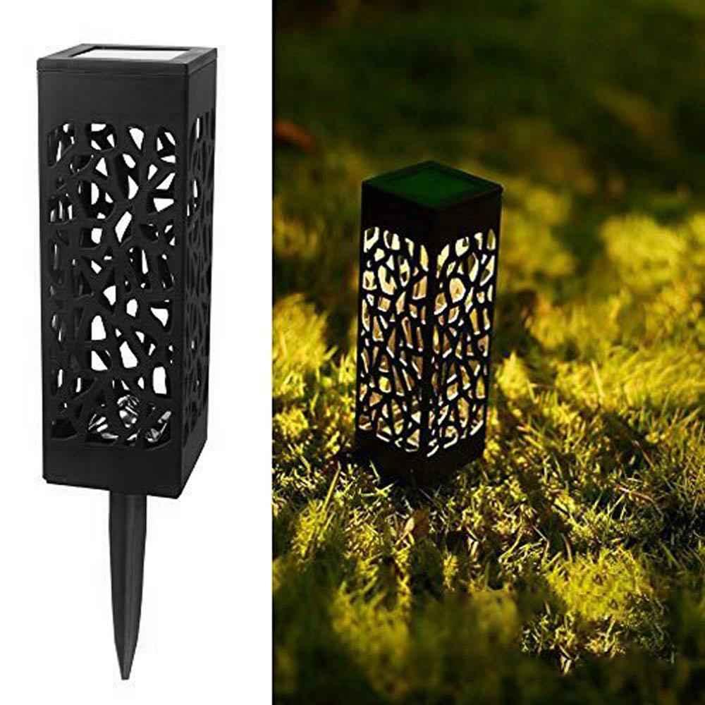 Светодиодный солнечный свет наружное украшение сада из нержавеющей стали датчик солнечного света Водонепроницаемый Сад Лестницы двора лампы для дорожек