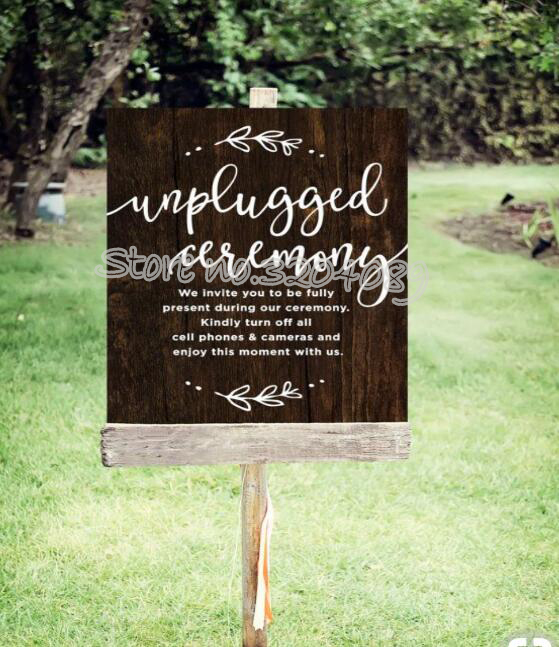 Invite You Present During Unplugged Ceremony Quotations