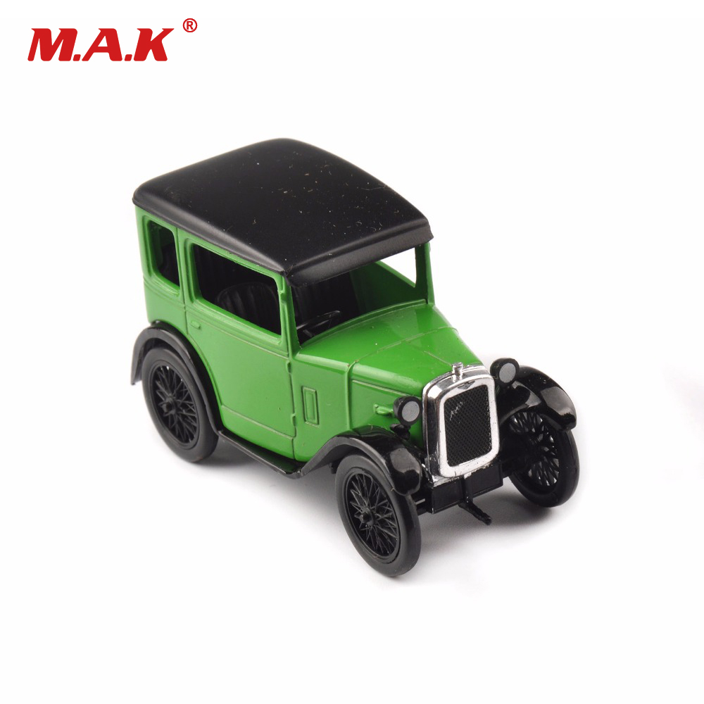 Cheap toy Car Models 1/43 Austin Seven Diecast Alloy Car Mini Vehicles Toys Gifts 1:43 Classic Diecast Car Model Kids Toy